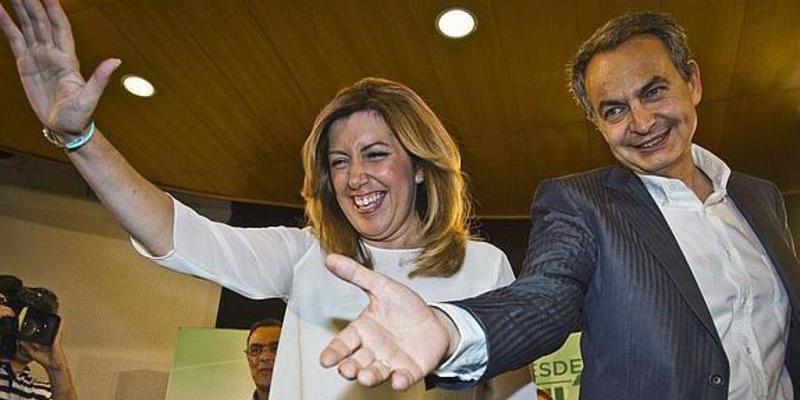 """Zapatero acusa a Cataluña de tener """"prejuicios"""" contra Susana Díaz por ser mujer y andaluza"""