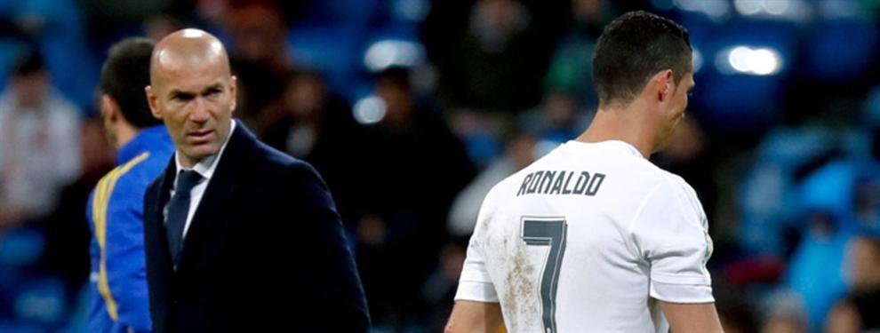 Zidane hace 'tragar' a Cristiano Ronaldo (pero puede tener un problema bestial)