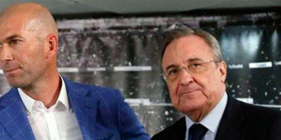 Zidane pide un fichaje que complica el vestuario (y fulmina un objetivo de Florentino Pérez)