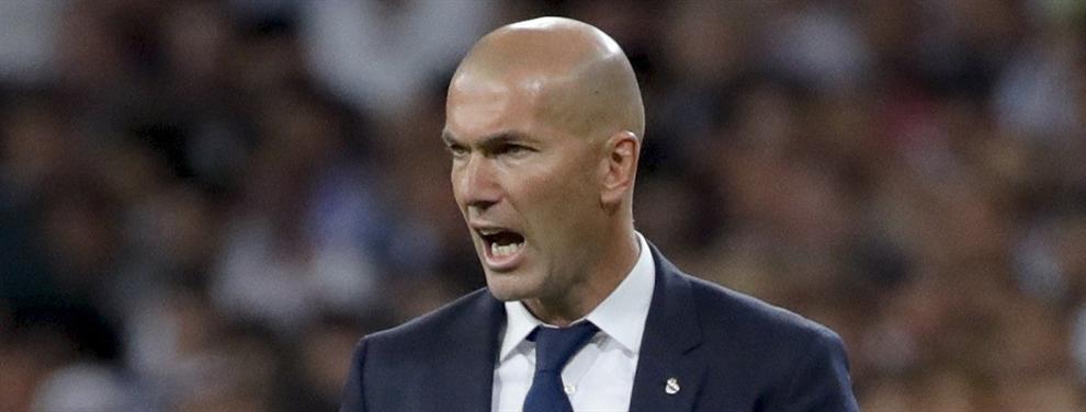 Zidane pone freno a la salida de uno de los discutidos en el Madrid