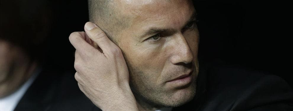 Zidane pone una operación bomba sobre la mesa de Florentino Pérez que mete al Real Madrid en un problema