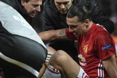 Zlatan no se rendirá a pesar de dura lesión