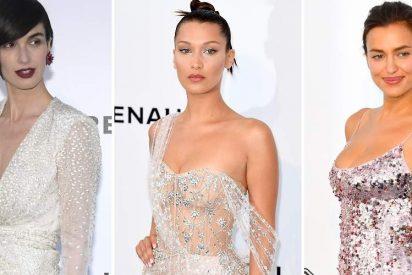 Cannes: Paz Vega, Bella Hadid e Irina Shayk y su noche de erotismo y transparencias