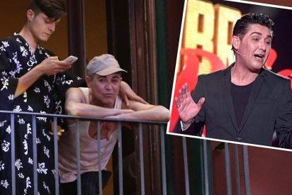 """Darío: """"Mi novio de Ángel Garó no es una persona normal, tiene muchas caras"""""""