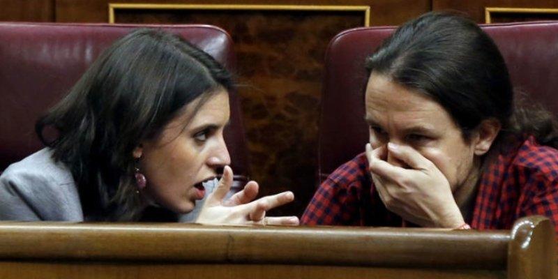 El indecente sueldazo que la descastada pareja Iglesias-Montero se lleva cada mes a casa