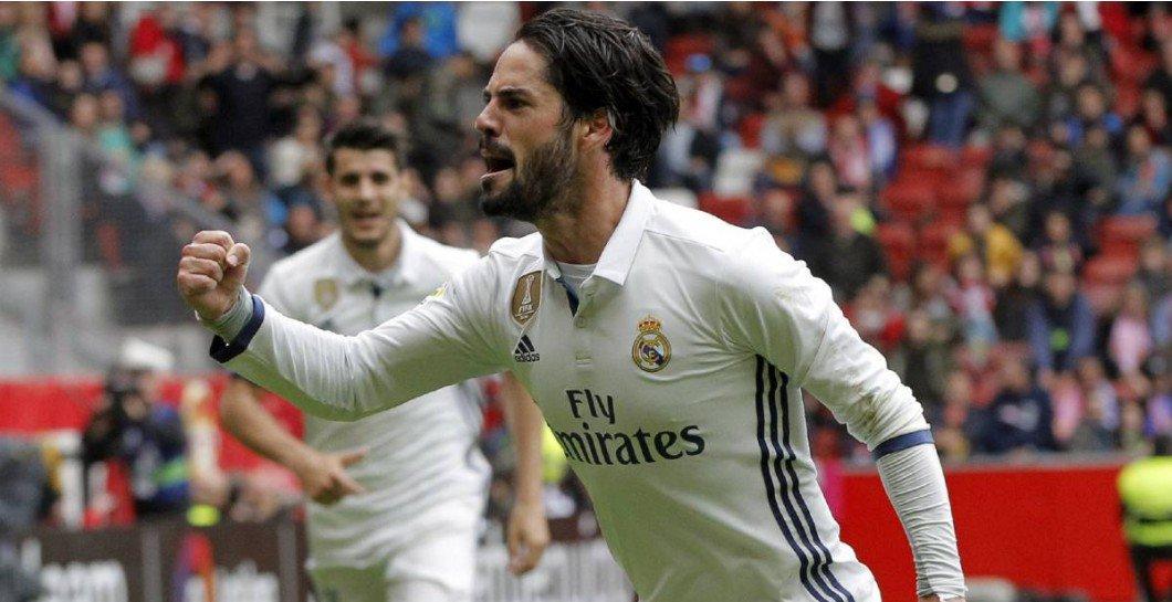 La afición del Real Madrid reclama a Isco para el 'Equipo A'