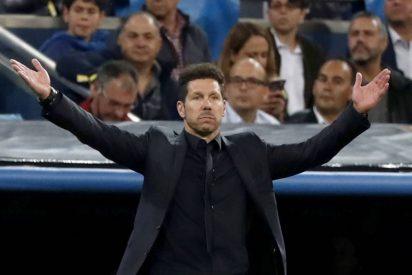 """Cholo Simeone: """"Pienso que tenemos opciones porque el fútbol es maravilloso y nos llamamos Atlético"""""""