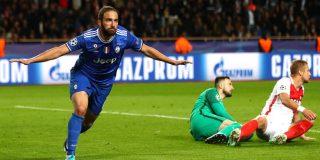 Higuaín asalta el Principado: Mónaco 0 - Juventus 2