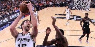 Los Spurs se levantan con un Kawhi genial y Pau como titular: Spurs 121 - Rockets 96