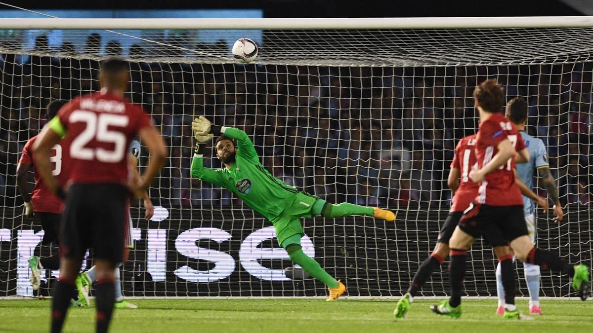 Mourinho hace una de las suyas en Vigo: RC Celta 0 - Manchester United 1