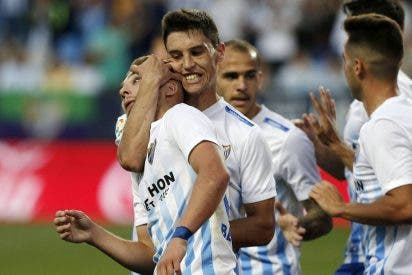 Ontiveros, Recio y Sandro hacen vibrar de nuevo a La Rosaleda: Málaga 3 - Celta 0