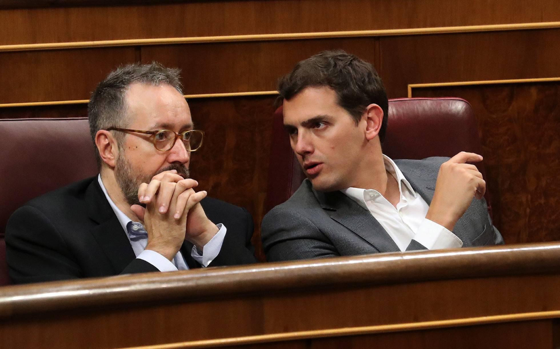Albert Rivera votará contra la aprobación del Cupo vasco para frenar las críticas a Ciudadanos