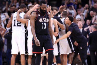 Los de Pau Gasol ganan y acarician la final del Oeste: Spurs 110 - Rockets 107 (3-2)