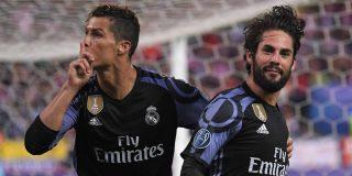 Cristiano mandó callar al Calderón tras el gol de Isco: Atlético de Madrid 2 - Real Madrid 1