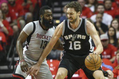 Los Spurs funden a los Rockets y jugarán la final del Oeste ante los Warriors