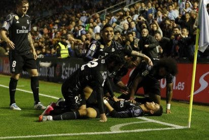 Campeón de Liga a punto: RC Celta 1 - Real Madrid 4