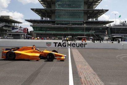 Fernando Alonso termina cuarto en el Fast Friday de la Indy 500