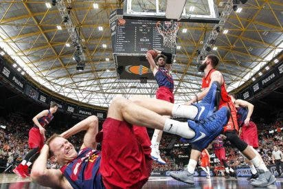 Otro ridículo del Barça: Valencia Basket 83 - FC Barcelona Lassa 61