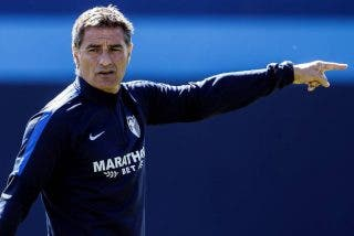 Real Madrid: Míchel con el Málaga, en el lugar donde estuvo Valdano con el Tenerife