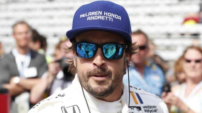 Fernando Alonso entró en el 'Fast 9' y luchará por la pole en Indy