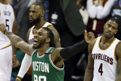 Los Celtics remontan 21 puntos en Cleveland y rompen la imbatibilidad de los Cavaliers
