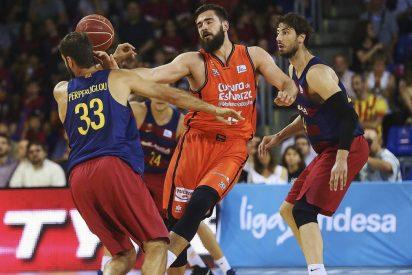 El Barcelona sobrevive con Renfroe a los mandos: FC Barcelona Lassa 91 - Valencia Basket 79