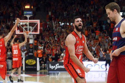 Los culés caen en cuartos por primera vez en 25 años: Valencia Basket 67 - FC Barcelona Lassa 64