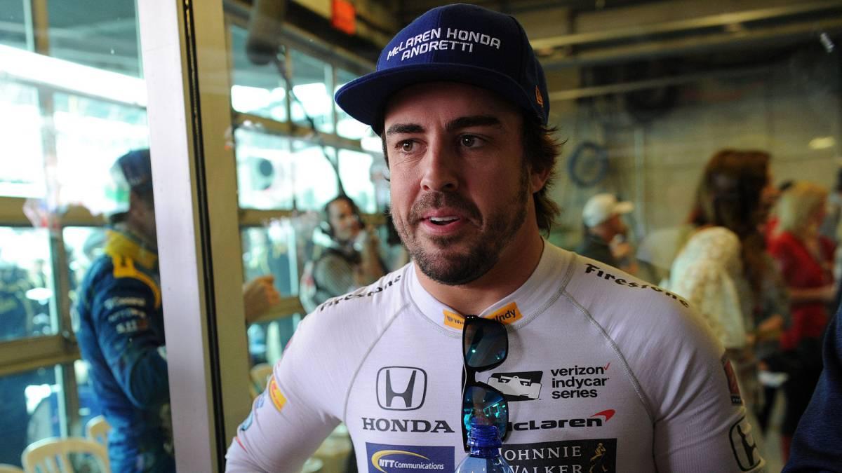 Fernando Alonso, nombrado mejor novato en las 500 Millas de Indianápolis