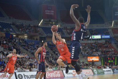 San Emeterio manda en Vitoria: Baskonia 82 - Valencia Basket 83
