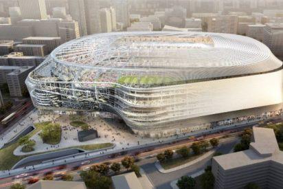 El nuevo Bernabéu tendrá una cubierta abatible y albergará dentro un hotel y tiendas