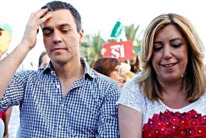 Guerra sucia en el PSOE: Pedro Sánchez manda 'espías' a los mitines de Susana Díaz