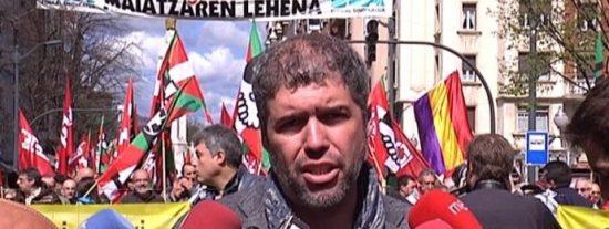 La sucia cara oculta del nuevo líder de CCOO: aplaude hasta con las orejas a los proetarras