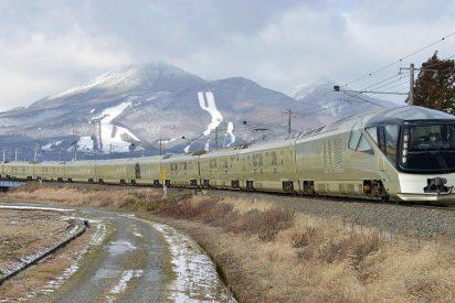 El nuevo tren de lujo japonés donde te clavan 8.500 euros la suite