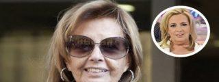 El mal presagio sobre la isquemia cerebral de Teresa Campos: ¡su hija confirma que tiene afectada la vista!