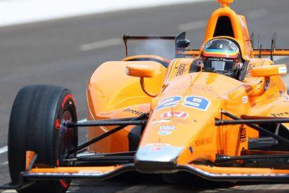 Fernando Alonso fulminó a dos pájaros en Indianápolis