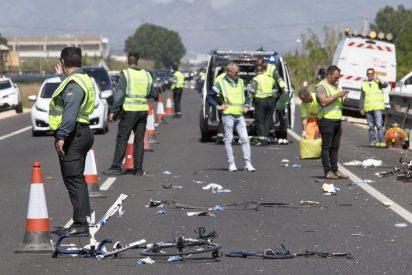 Una conductora, borracha y drogada, arrolla a 6 ciclistas y mata a dos de ellos