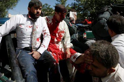 Los terroristas islámicos asesinan a 80 personas en el distrito diplomático de Kabul