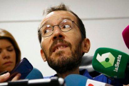 Echenique, al 'tramabús' de Podemos