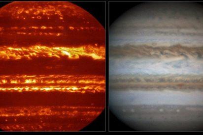 Las impresionantes nuevas imágenes de Júpiter
