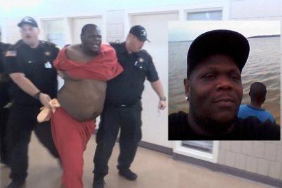 [VÍDEO] Este recluso murió tras repetir 19 veces que no podía respirar