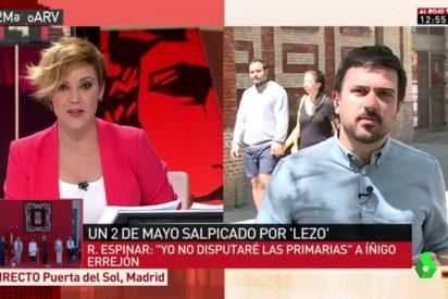 Cristina Pardo le arrea un corte antológico a Ramón Espinar