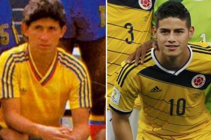 [VÍDEO] Goles similares entre James Rodríguez padre e hijo