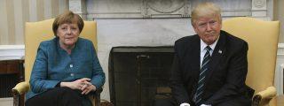"""Trump pone de vuelta y media a Merkel por su """"mala"""" política comercial y militar"""