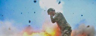 Las imágenes de la explosión que mató a una soldado estadounidense en Afganistán