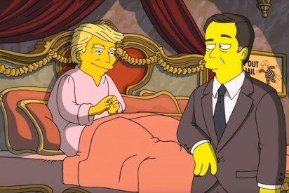[VÍDEO] 'Los Simpson' saben dónde esconde Trump las cintas que comprometen al exdirector del FBI