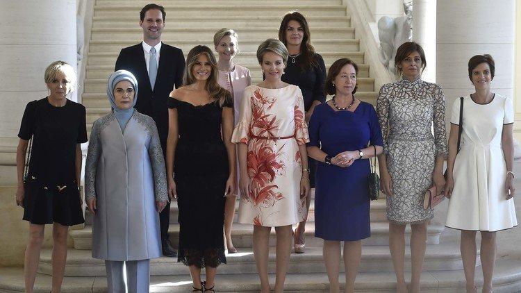 El desprecio de la Casa Blanca al 'primer caballero' gay que posó con las primeras damas de la OTAN