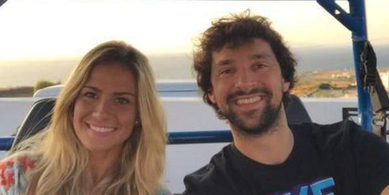El 'Increible' Llull se casa: así es la bella prometida del crack del Real Madrid