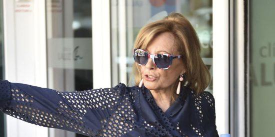 María Teresa Campos es ingresada de urgencia en el hospital con ictus cerebral