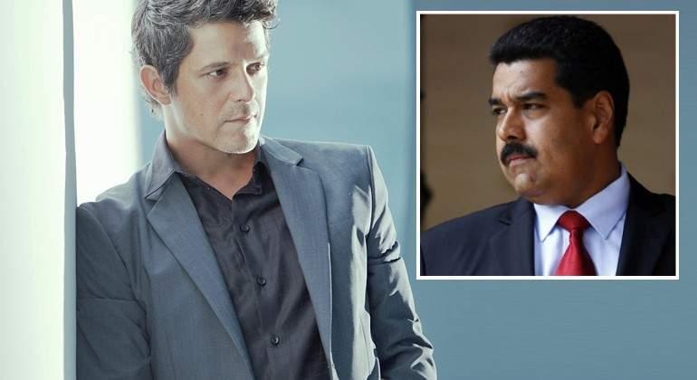 """Alejandro Sanz: """"Nicolás Maduro es un tirano, miserable y cobarde"""""""