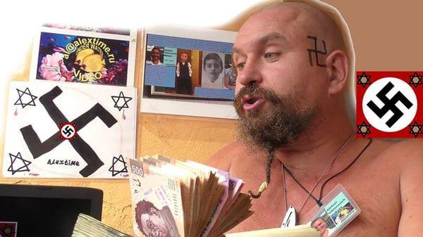 "[VÍDEOS] Así da una paliza de muerte la turba mexicana al 'youtuber' #LordNaziRuso: ""¡Sois monos que solo queréis sexo!"""